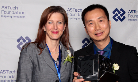 Minister Tanya Fir and Dr. Biao Huang